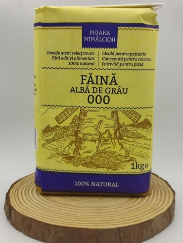 Faina Alba de Grau, Moara Mihalceni, 1kg