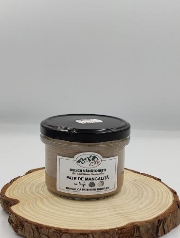 Pate de Mangalita cu Trufe, 180g