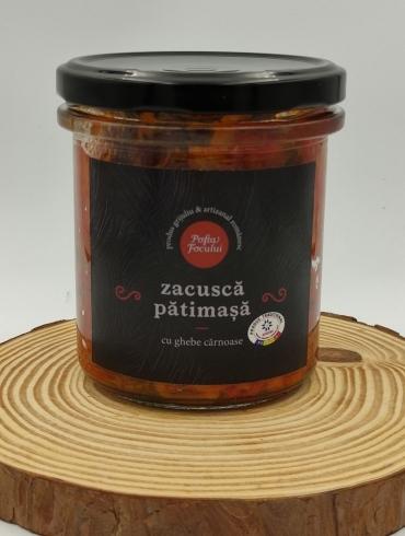 Zacusca Patimasa cu Ghebe Carnoase, 300g